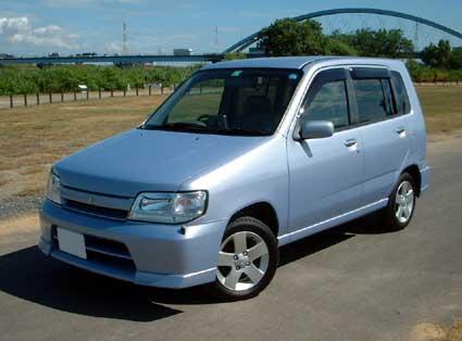 車:NISSAN CUBE アルテⅡ 2002年 ...